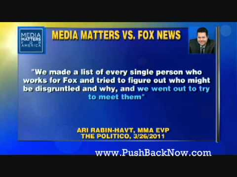 Media Matters: A Tool For Feckless Democrats