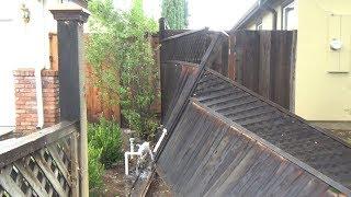 Подсчитываем убытки - ураган с разрушениями и затоплениями