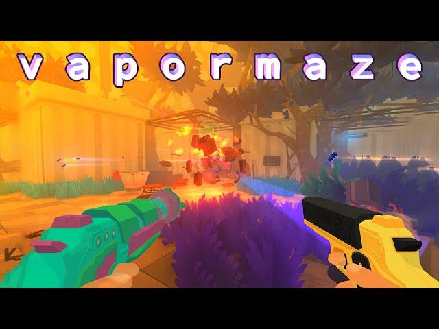 VAPORMAZE Gameplay