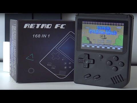 Retro Fc 168 In 1 Multi Family Computer Game Handheld Big