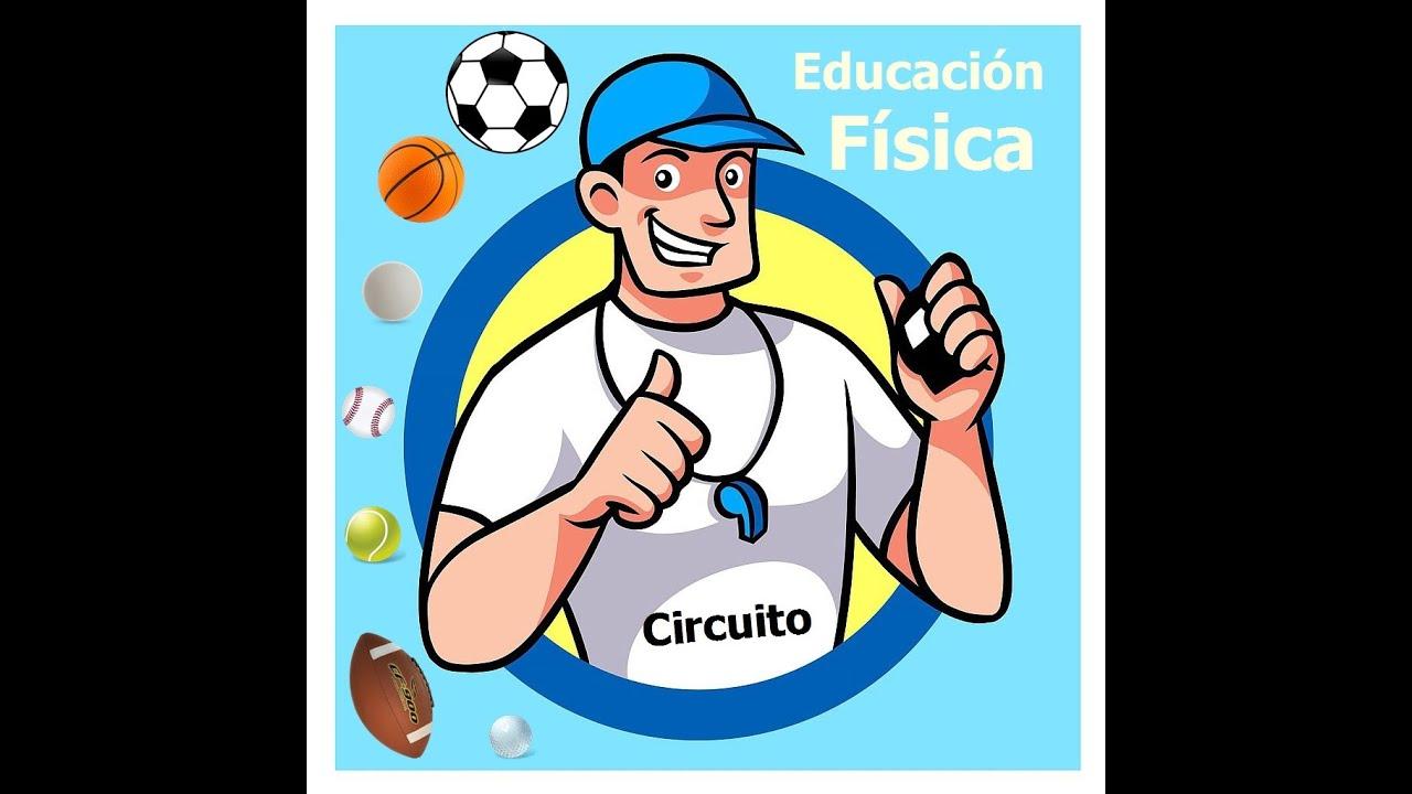 Circuito Sencillo : Educación física circuito sencillo youtube