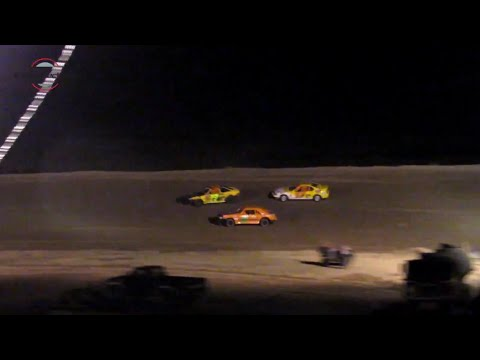 Desert Thunder Raceway Mini Stock Heat Race 9/28/18