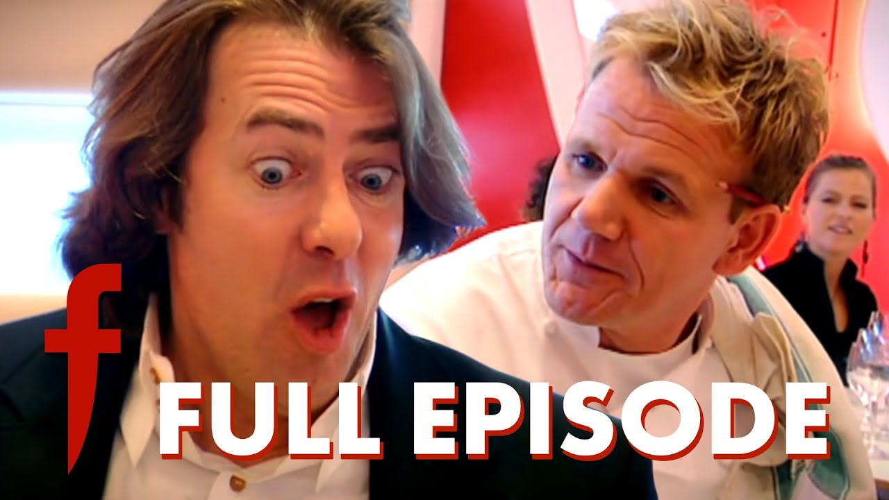 Jonathan Ross Attempts To Cook For Gordon Ramsay   The F Word