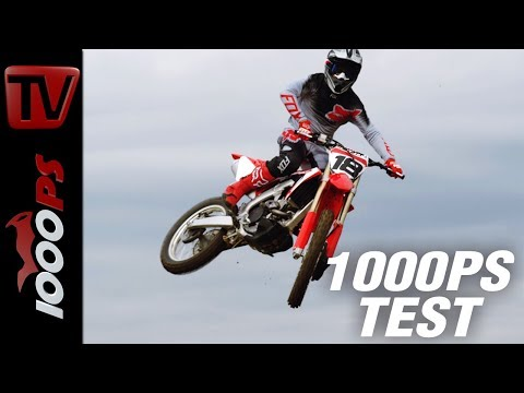 Honda CRF250R Motocross Test - Neuer Motor, neues Chassis, neue Gabel, 3 Mappings