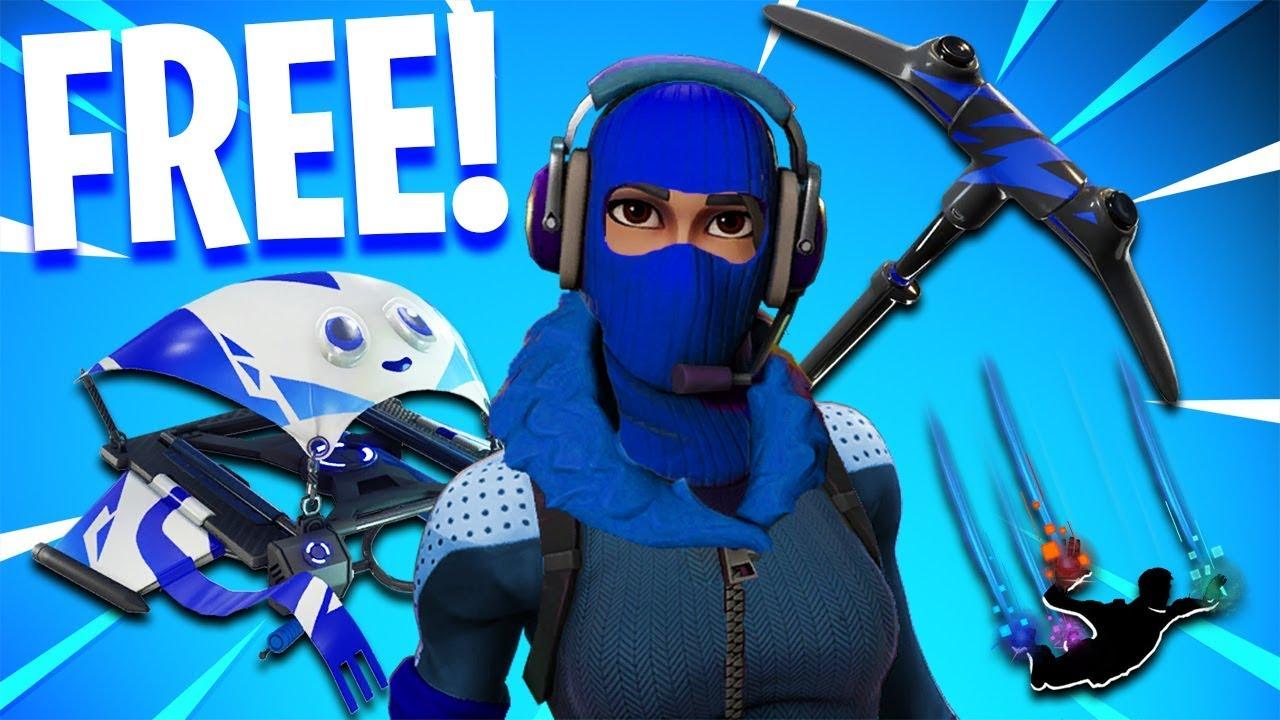 the NEW FREE SKINS Pack in Fortnite.. - YouTube
