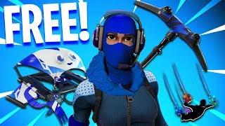the NEW FREE SKINS Pack in Fortnite..