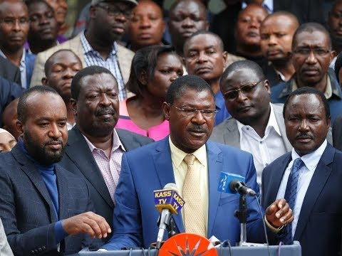 NASA MPs announce new tactic ahead of debate on amendment of Election Laws