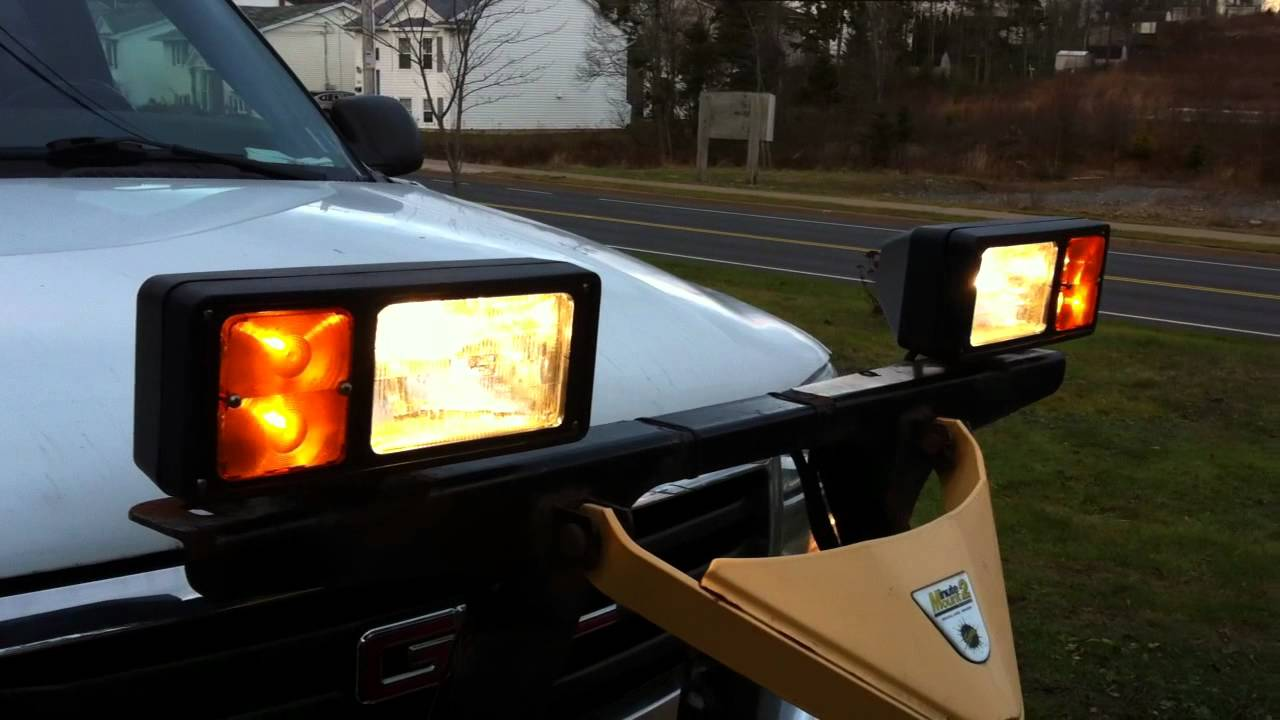 small resolution of fisher plow lights part 1