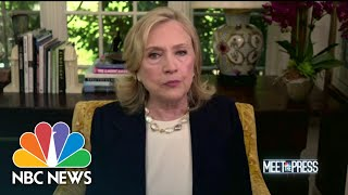 Full Hillary Clinton: Republicans 'Made A New Precedent' To Wait On Supreme Court Nominations
