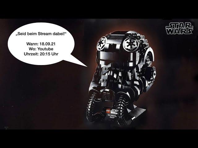 Endlich wieder Live quatschen über Lego, Star Wars & Co | TIE Fighter Pilot™ Helm (75274)