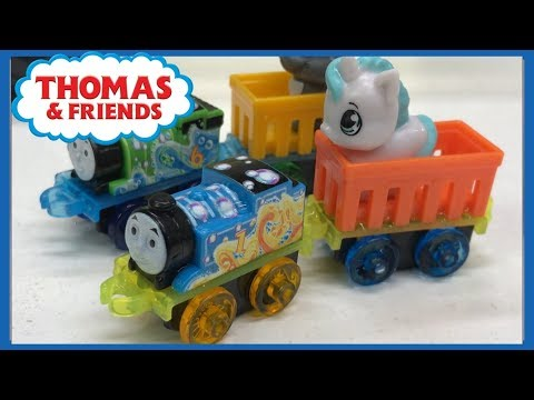 Very rare Exclusive Release! Thomas wooden trains BUBBLESOME TRUCKS with box