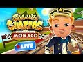 🔴 Subway Surfers World Tour 2018 - Monaco Gameplay Livestream - 6th Birthday 🎂