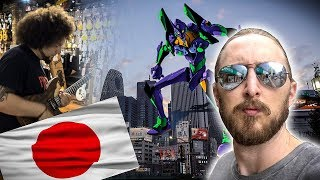 So after China I went to Japan and Roland Boss HQ together with the...