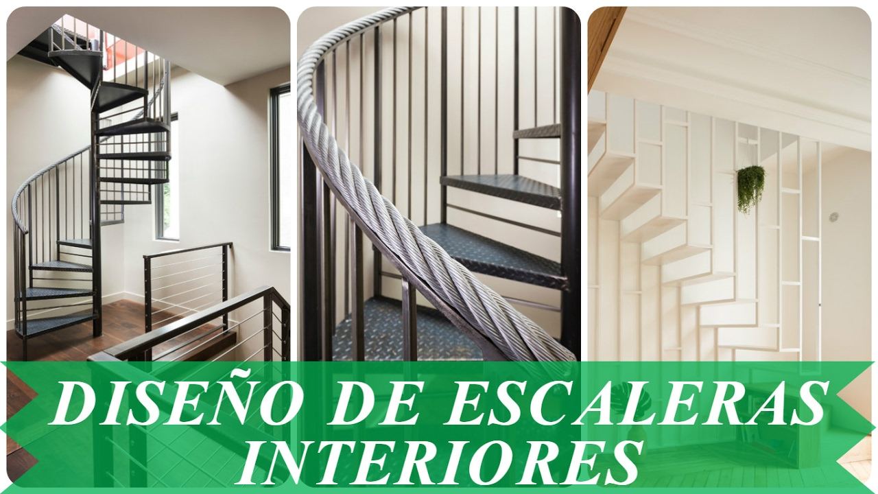 Dise o de escaleras interiores youtube for Diseno de escaleras