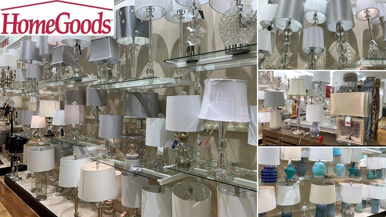 Homegoods Decorative Crystal Lamps
