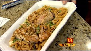 13-minute Meals: Chicken &  Pasta With Wild Mushrooms In An Herb Sauce