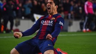 Luis Suarez ● Best Goals with Barcelona ● 2014/2015 HD