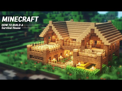 EASY Minecraft : STARTER HOUSE Tutorial |How to Build in Minecraft (#62)