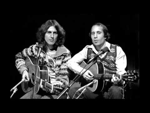 George Harrison & Paul Simon   Here Comes The Sun