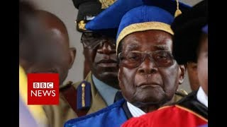 Zimbabwe crisis: Mugabe makes first public appearance - BBC News