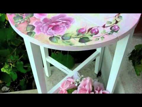 How To Paint A Beautiful Shabby Rose