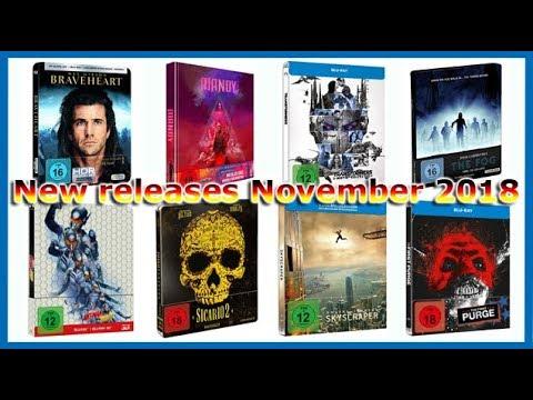 german-blu-ray-releases---november-2018---steelbooks/mediabooks/digipaks---deutsche-blu-ray-vÖs