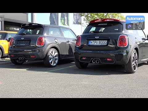 2015 Mini Jcw Vs Cooper S Tuning Kit Sound Battle 1080p Youtube