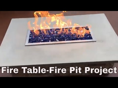 My Fire Table Fire Pit Project