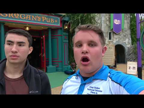 Riding Battle For Eire for the FIRST TIME | Busch Gardens Williamsburg visit: 4/16/18