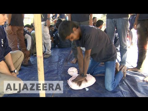 Bangladesh: Rohingya refugees are being trained to save lives