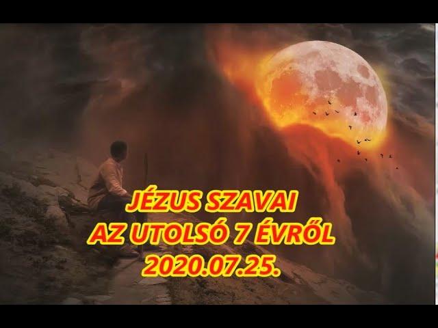 Jézus szavai az utolsó 7 évről