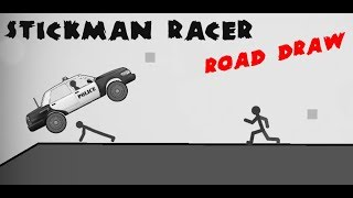 Stickman Racer Road Draw