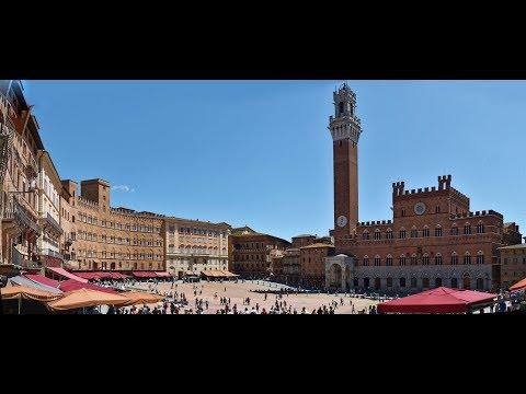 Sienne Et La Piazza Del Campo - Toscane - Italie