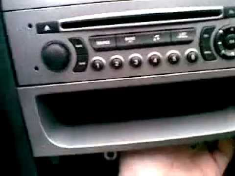 Peugeot 308 How To Remove Heater Control Amp Original