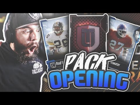 FIRST MADDEN 18 PACK OPENING!! INSANE PULLS MADDEN 18 ULTIMATE TEAM