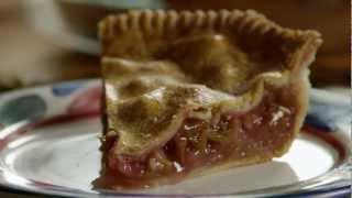 How To Make Fresh Rhubarb Pie