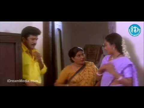 Ammo Bomma Movie - Rajendra Prasad, Uma Shankari, Annapurna Best Scene