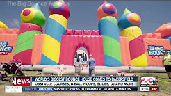 World's Biggest Bounce House from The Big Bounce America
