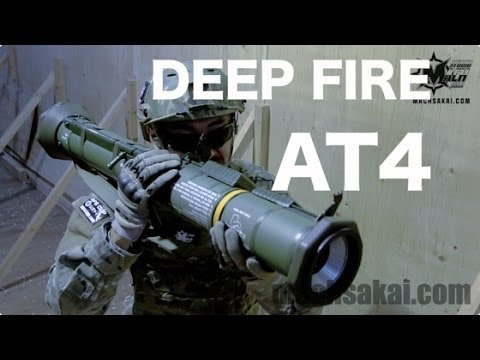 Deep Fire AT-4 対戦車無反動砲をマック堺がレビュー