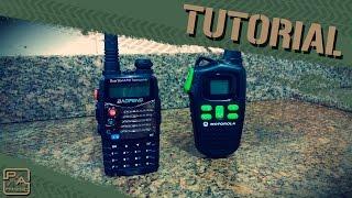 TUTORIAL - Baofeng UV-5R com Talkabout(Um tutorial operacional dos rádios Baofeng e a comunicação dele com os Motorola Talkabout. Link das Tabelas: Tabela Canal: http://goo.gl/BFWUYG Tabela ..., 2015-04-26T16:00:08.000Z)