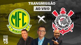 Mirassol x Corinthians | AO VIVO | Campeonato Paulista 2021