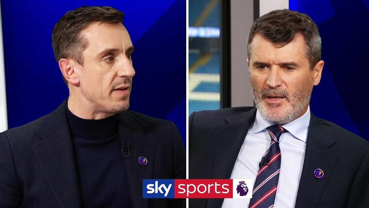 Image result for roy keane and Gary Neville