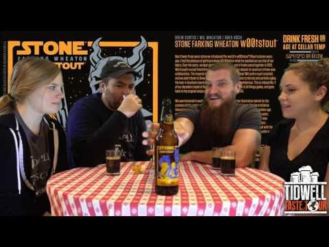 DREW CURTIS / WIL WHEATON / GREG KOCH STONE FARKING WHEATON W00TSTOUT Beer Review