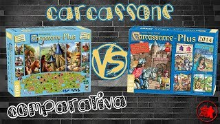Carcassonne Plus 2017 VS. Carcassonne Plus 2014