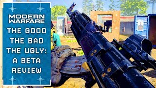 Modern Warfare: A Critical Review (The Good, Bad and Ugly of the Beta)