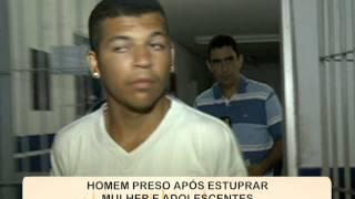 Estuprador é preso no município de Condado [SOS Pernambuco - 27.08.15]