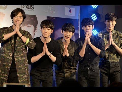 150221 - Press Con 5URPRISE Beyond and Seo Kang Jun Fan Meeting in Thailand