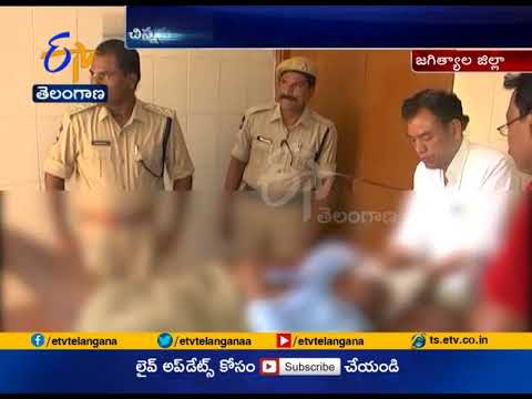 Son Killed by Father  Wiht Help of Another Son in Anantaram  Jagityal