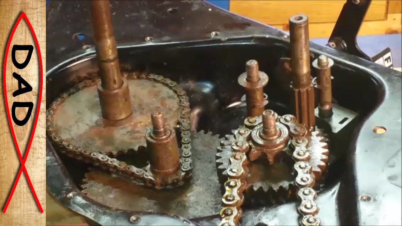 update craftsman rear tine tiller repair stuck gears [ 1280 x 720 Pixel ]