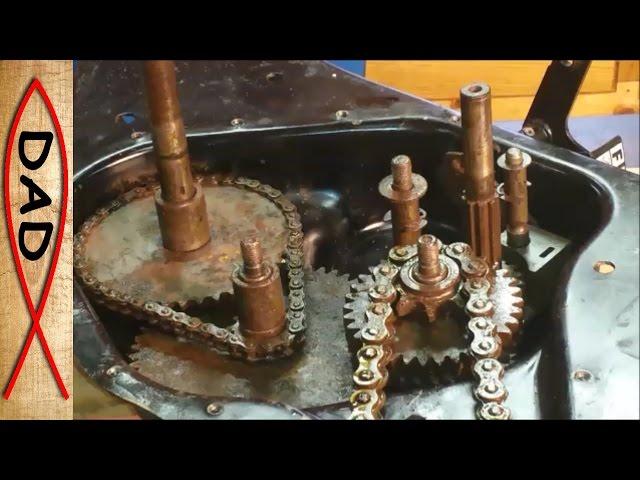 Riding Mower - (Update) Craftsman rear tine tiller repair - stuck gears